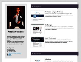 nicolas-chevallier.fr screenshot
