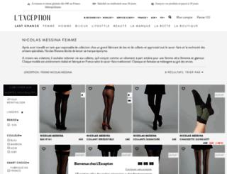 nicolas-messina.lexception.com screenshot