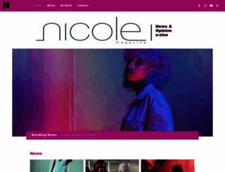 nicolemagazine.com screenshot