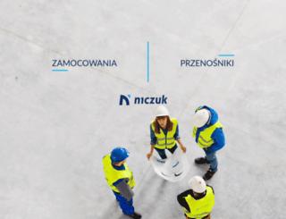 niczuk.pl screenshot