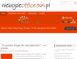niebojsieoffice365.pl screenshot