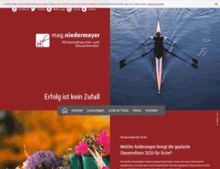 niedermayer.co.at screenshot
