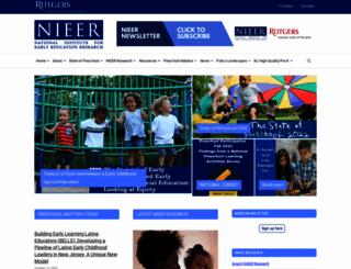 nieer.org screenshot