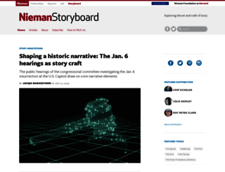 niemanstoryboard.org screenshot