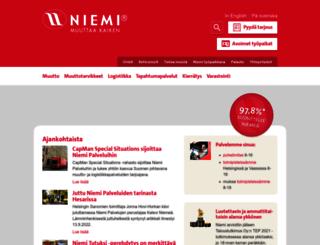 niemi.fi screenshot