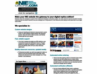 nieonline.com screenshot