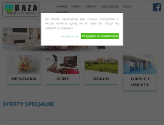 nieruchomoscibaza.pl screenshot