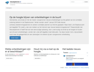 nieuweplannen.nl screenshot