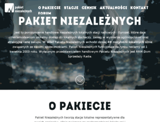 niezalezni.com.pl screenshot