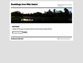 niftygaloot.com screenshot