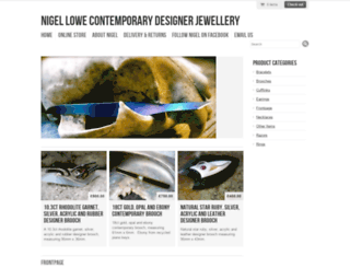 nigellowecontemporaryjewellery.com screenshot