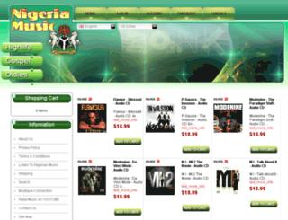 nigeria-music.com screenshot