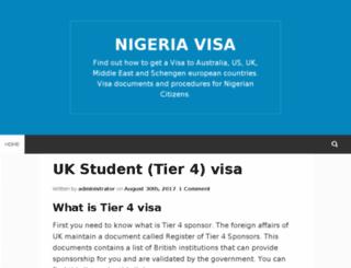 nigeria-visa.com screenshot