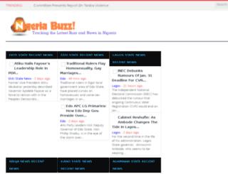 nigeriabuzz.com screenshot
