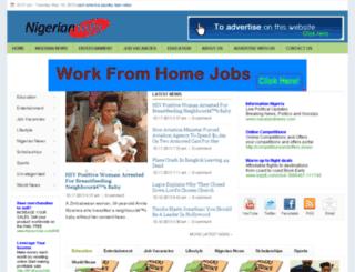 nigerianinfo.com screenshot