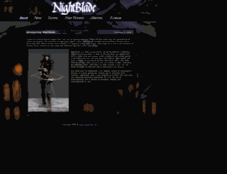 night-blade.com screenshot