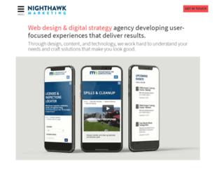 nighthawkmarketing.com screenshot