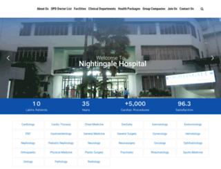 nightingalehospital.com screenshot
