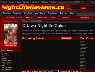 nightlifereviews.ca screenshot