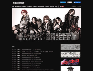 nightmare-web.com screenshot