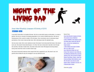 nightofthelivingdad.net screenshot