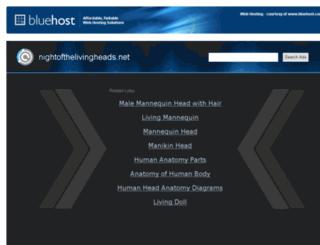 nightofthelivingheads.net screenshot