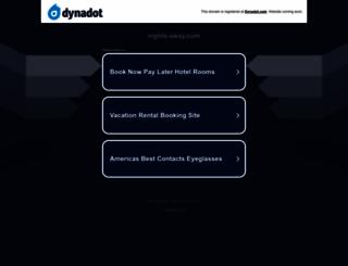nights-away.com screenshot