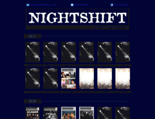 nightshiftmag.co.uk screenshot