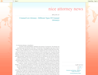niiceattorneynews.blogspot.com screenshot