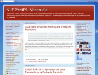 niifpymes-venezuela.blogspot.com screenshot