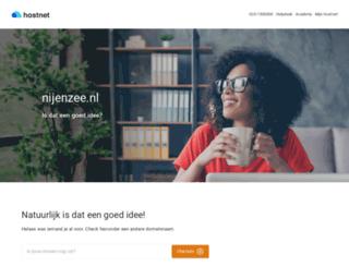 nijenzee.nl screenshot