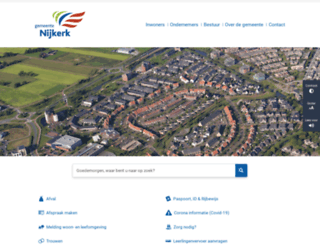 nijkerk.eu screenshot