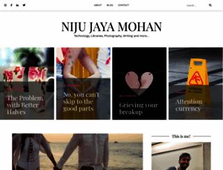 nijumohan.com screenshot
