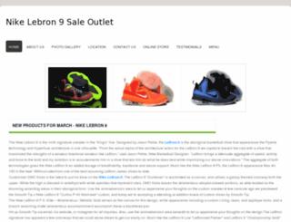 nikelebron9sale.webs.com screenshot
