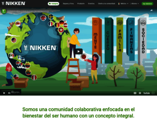 nikkenlatam.com screenshot