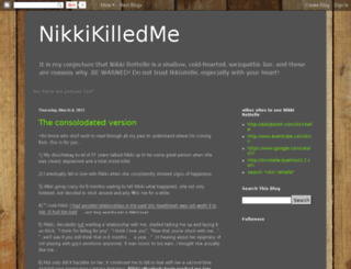 nikkikilledme.blogspot.com screenshot
