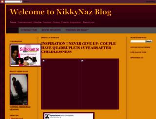 nikkynaz.blogspot.com screenshot