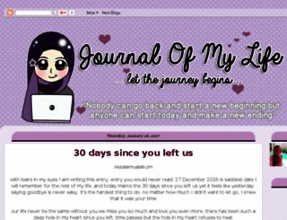 nikminijournal.blogspot.com screenshot