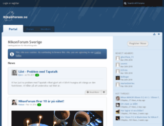 nikonforum.se screenshot