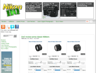 nikonhq.com screenshot