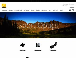 nikonsportoptics.com screenshot