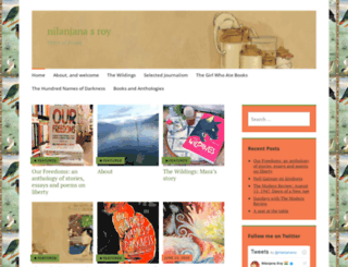 nilanjanaroy.com screenshot