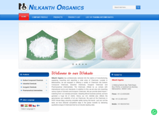 nilkanthorganics.com screenshot