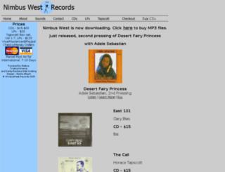nimbuswest.com screenshot