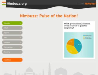 nimbuzz.org screenshot