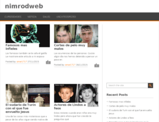 nimrodweb.in screenshot
