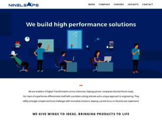 nineleaps.com screenshot