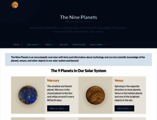 nineplanets.org screenshot