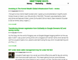 ninetynineways.net screenshot