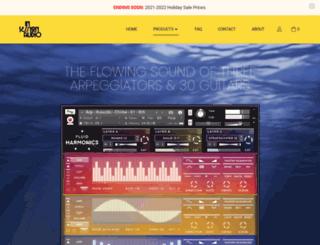 ninevoltaudio.com screenshot